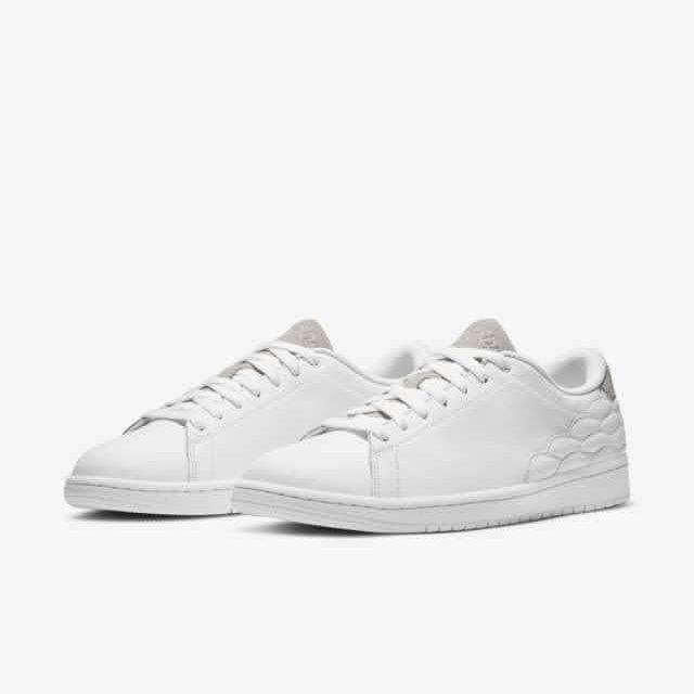 """ナイキ ジョーダン センター コート ホワイト """"ホワイト オン ホワイト"""" nike-1-white-on-white-aj-1-centre-court-dj2756-100-pair"""