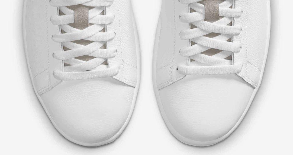 """ナイキ ジョーダン センター コート ホワイト """"ホワイト オン ホワイト"""" nike-1-white-on-white-aj-1-centre-court-dj2756-100-toe"""