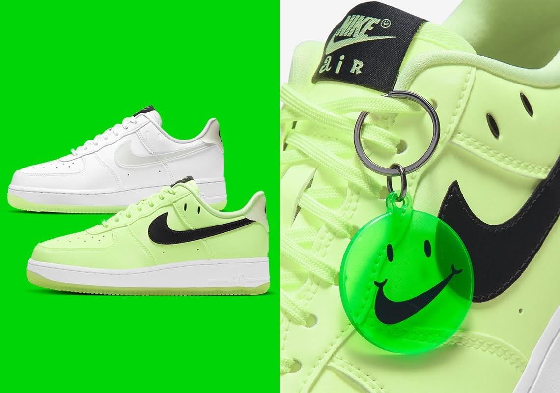 ナイキ エア フォース 1 ハブ ア ナイキ デー グロー イン ザ ダーク ホワイト Nike-Air-Force-1-Low-Have-A-Nike-Day-CT3228-100-CT3228-701 CT3228-701
