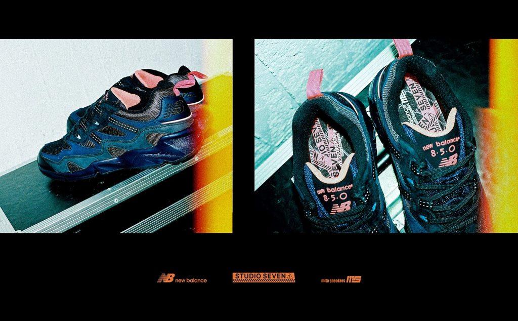 スタジオ セブン × ミタ スニーカーズ × ニューバランス ML 850-Studio Seven × Mita Sneakers × New Balance ML850-ML850-MB2-pair