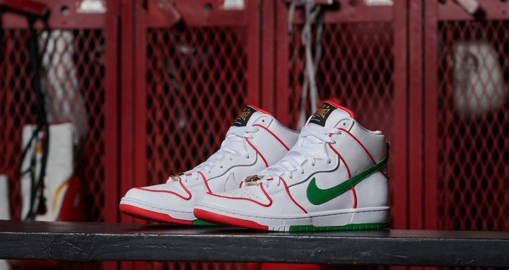 Nike SB Dunk High Paul Rodriguez Mexico (CT6680-100)
