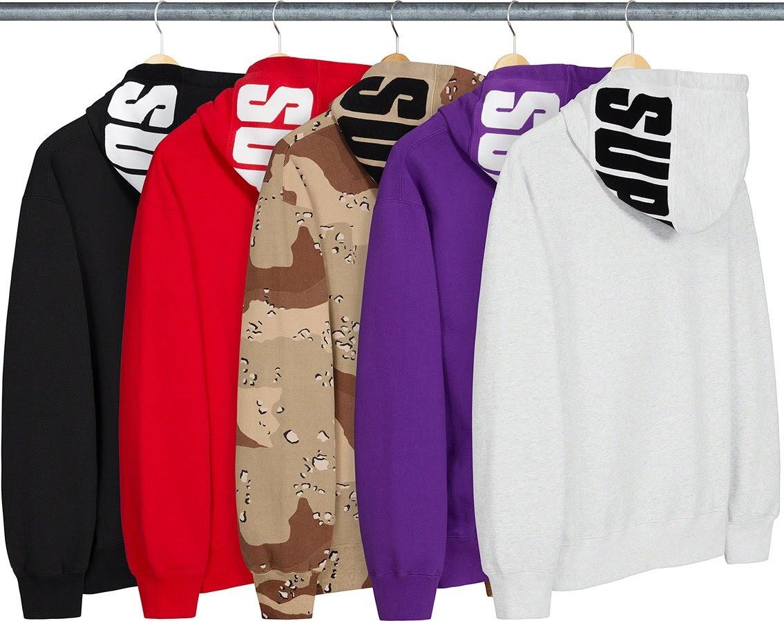 シュプリーム 2020年 秋冬 新作 Supreme-2020fw-week-17 rib-hooded-sweatshirt