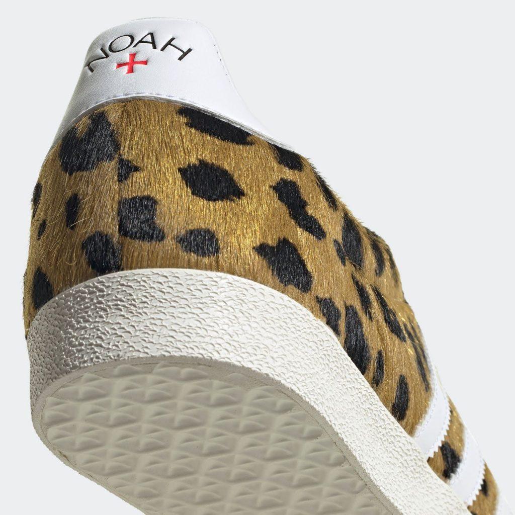 """ノア × アディダス オリジナルス ガゼル OG 全2色Noah x Adidas Gazelle OG """"cheetah""""-FY5378-heel"""