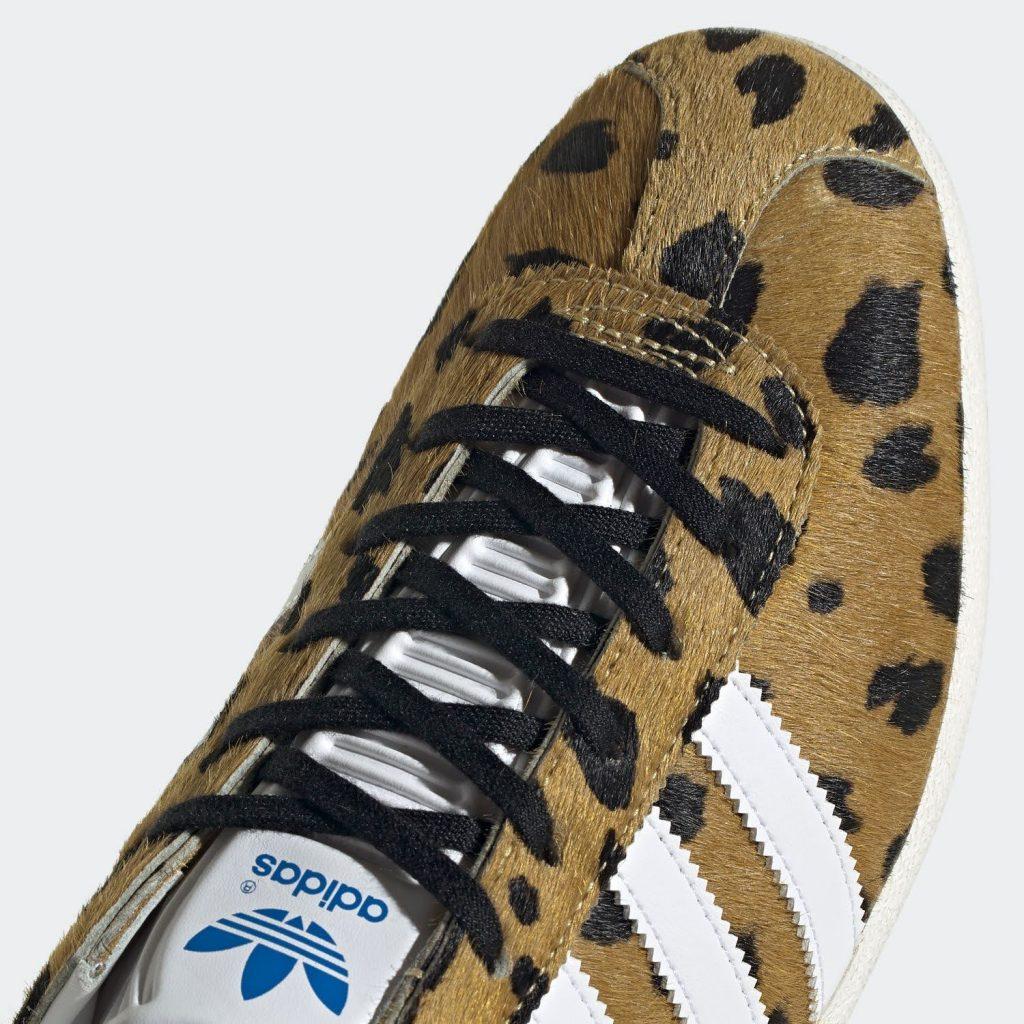 """ノア × アディダス オリジナルス ガゼル OG 全2色Noah x Adidas Gazelle OG """"cheetah""""-FY5378-toe"""