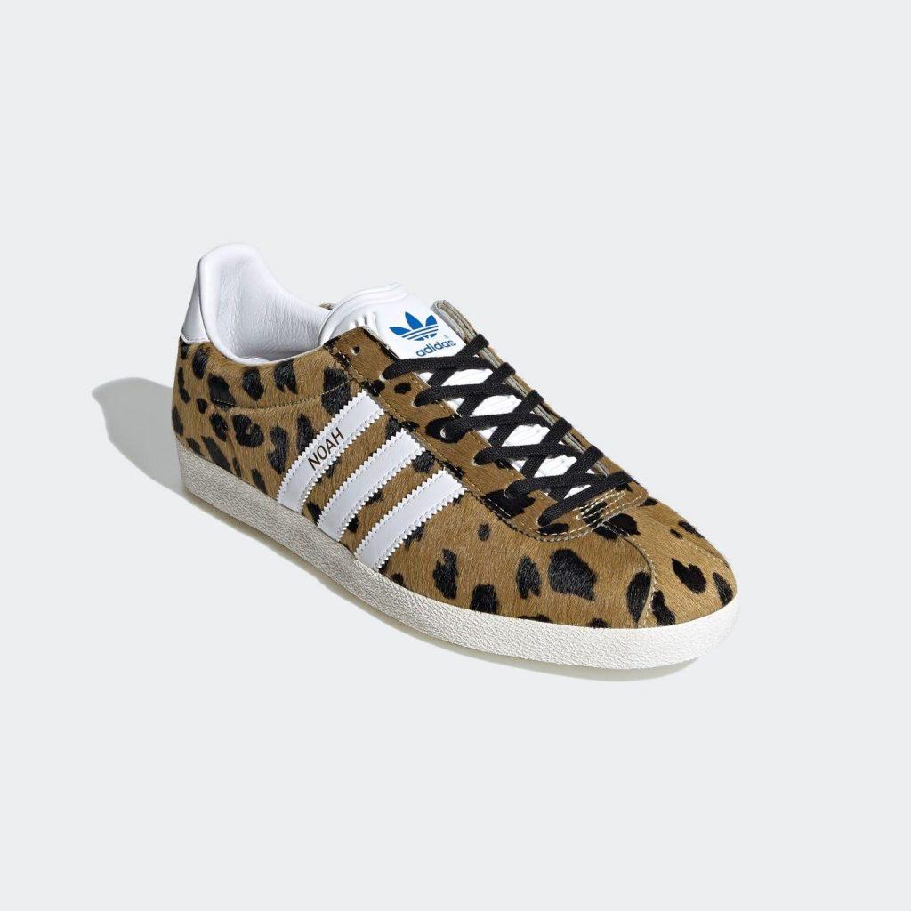 """ノア × アディダス オリジナルス ガゼル OG 全2色Noah x Adidas Gazelle OG """"cheetah""""-FY5378-front"""