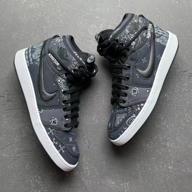 "Nike Air Jordan 1 KO ""Paisley"" ナイキ エア ジョーダン 1 KO ""ペイズリー"" detail"