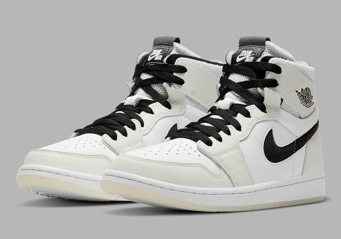"""ナイキ エア ジョーダン 1 ズーム コンフォート """"サリ"""" Nike-Air-Jordan-1-Zoom-CMFT-CT0979-002-pair"""