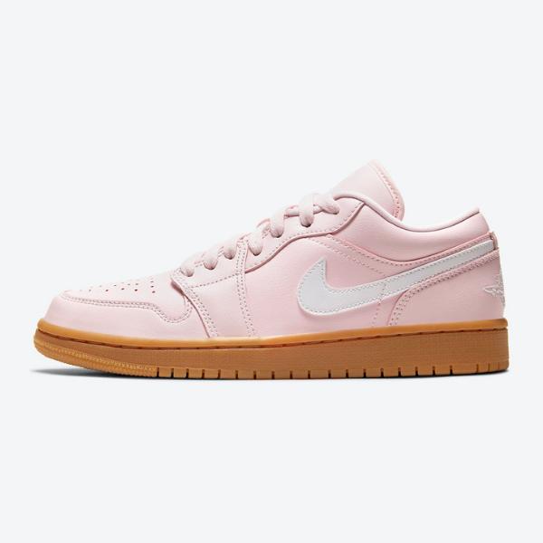 """ナイキ エア ジョーダン 1 ロー """"ピンクガム"""" Nike-Air-Jordan-1-Low-Arctic-Pink-Gum-DC0774-601-eyecatch"""