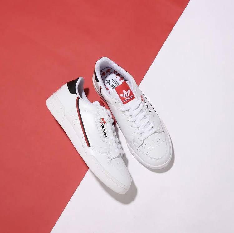 アディダス バレンタインデー パック adidas-continental-80-FZ1818-sabmarose-w-FZ1831-pair