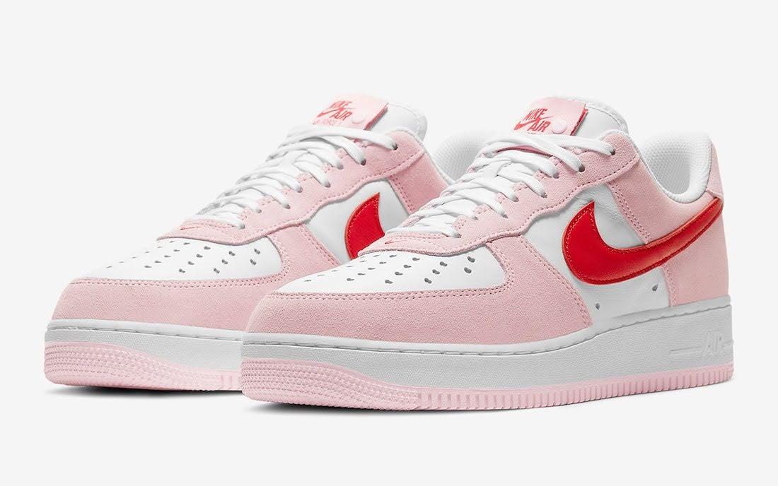 ナイキ エア フォース 1 バレンタイン デー Nike-Air-Force-1-Low-Valentines-Day-DD3384-600-