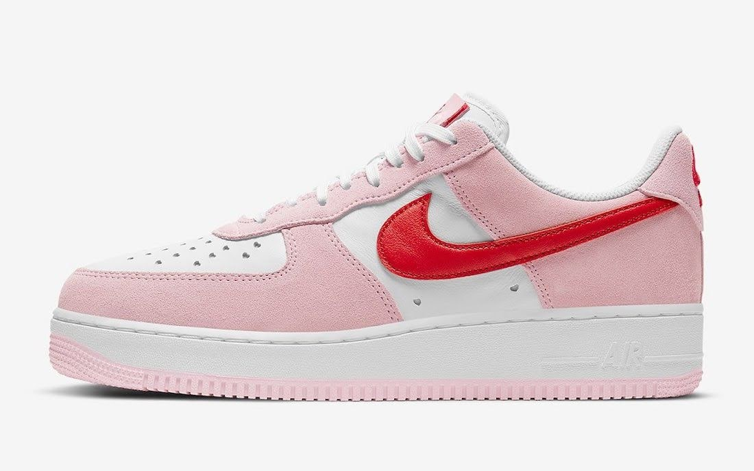 """ナイキ エア フォース 1 ロー QS """"バレンタインデー"""" Nike-Air-Force-1-Low-Valentines-Day-DD3384-600-side"""