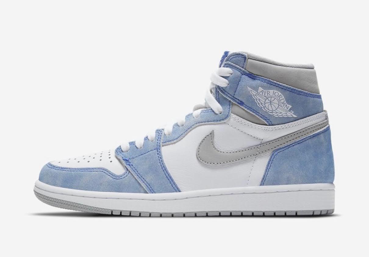 "Nike Air Jordan 1 High OG ""Hyper Royal"" / ナイキ エア ジョーダン 1 ハイ OG ""ハイパーロイヤル"" 555088-402 official side"