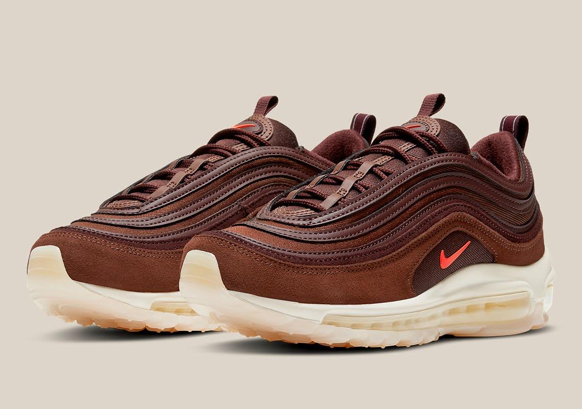 """ナイキ エア マックス 97 """"コーヒー"""" Nike-Air-Max-97-WMNS-Coffee-DD5395-244-pair"""