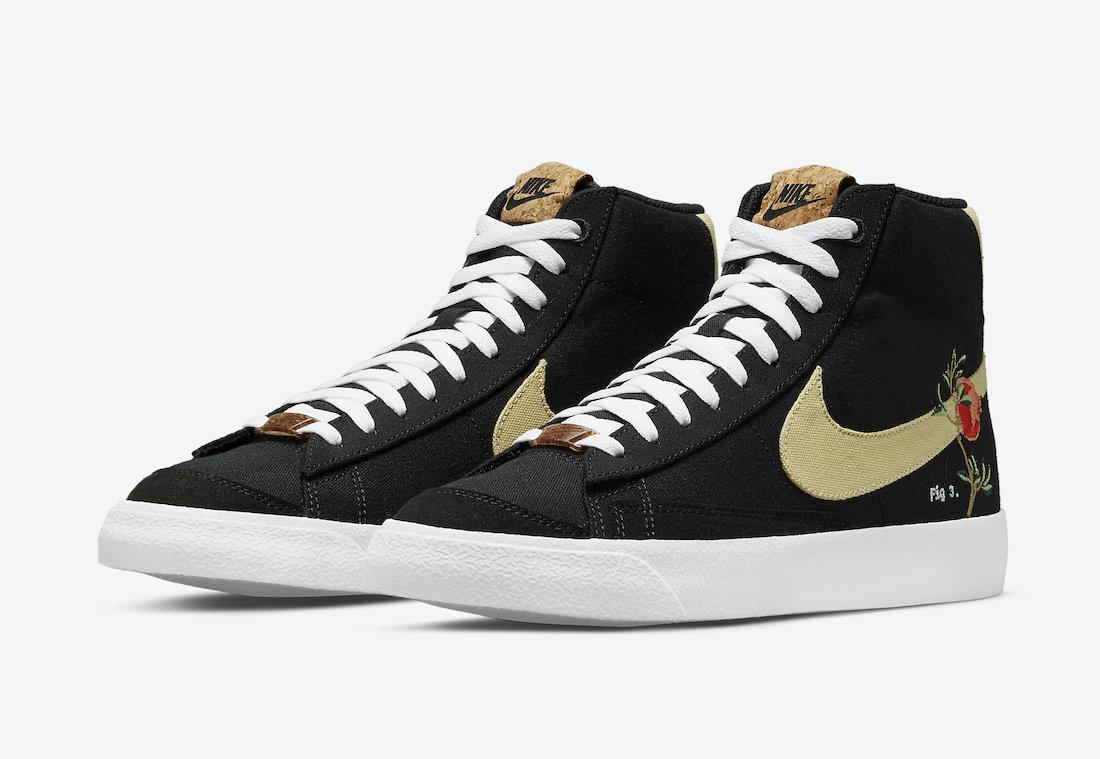 """ナイキ ブレーザー ミッド '77 """"ポメグラネート"""" Nike-Blazer-Mid-Pomegranate-CI1166-001-main"""