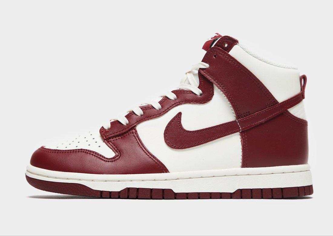 ナイキ ダンク ハイ チーム レッド Nike-Dunk-High-Team-Red-DD1869-101