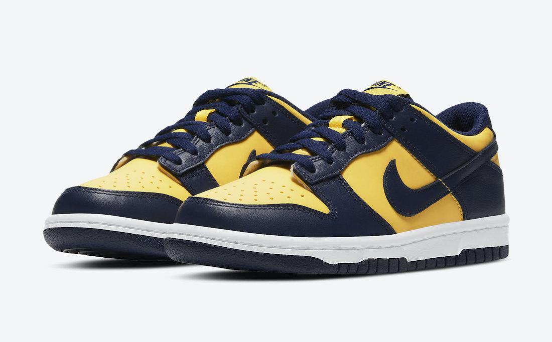 "Nike Dunk Low ""Michigan"" ナイキ ダンク ロー ""ミシガン"" DD1391-700 main"