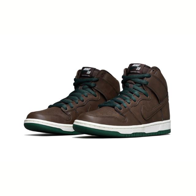 """【Nike Dunk High """"Baroque Brown""""】ナイキ ダンク ハイ """"バロックブラウン"""" CV1624-200 main"""
