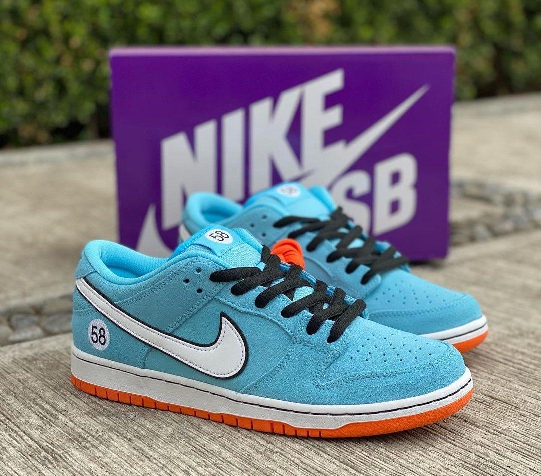 """ナイキ SB ダンク ロー プロ """"クラブ 58"""" Nike-SB-Dunk-Low-Club-58-BQ6817-401-detail"""