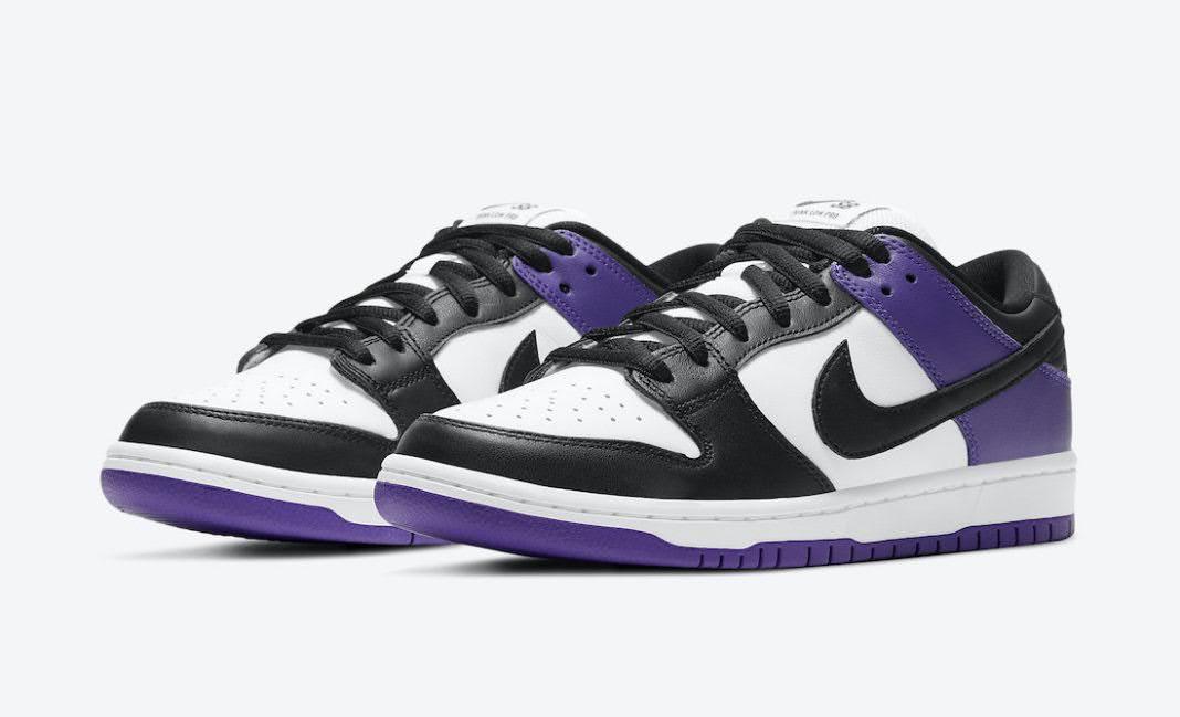 ナイキ ダンク ロー コート パープル Nike-SB-Dunk-Low-Court-Purple-BQ6817-500