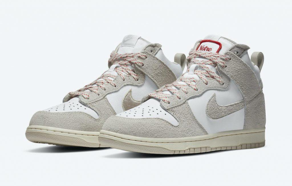 """ノートル × ナイキ ダンク ハイ """"ライト オアウッド ブラウン"""" Notre-Nike-Dunk-High-Light-Orewood-Brown-CW3092-100-pair"""