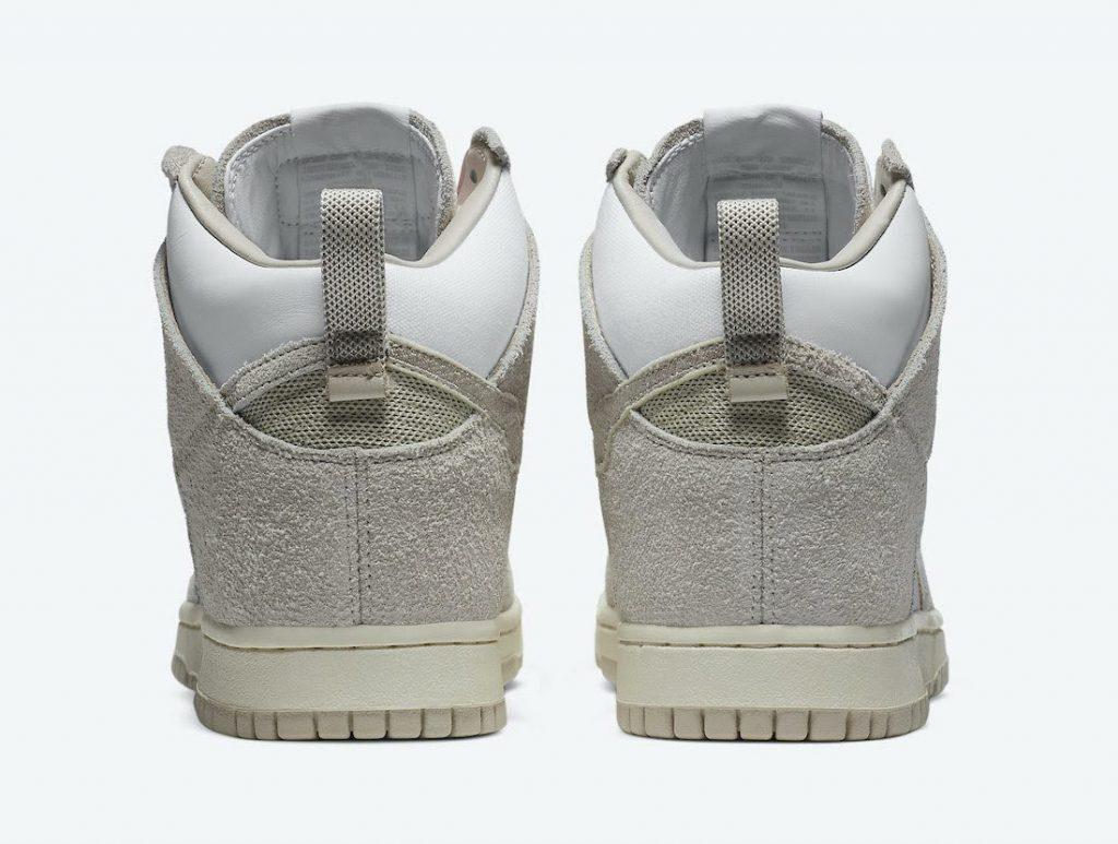 """ノートル × ナイキ ダンク ハイ """"ライト オアウッド ブラウン"""" Notre-Nike-Dunk-High-Light-Orewood-Brown-CW3092-100-heel"""