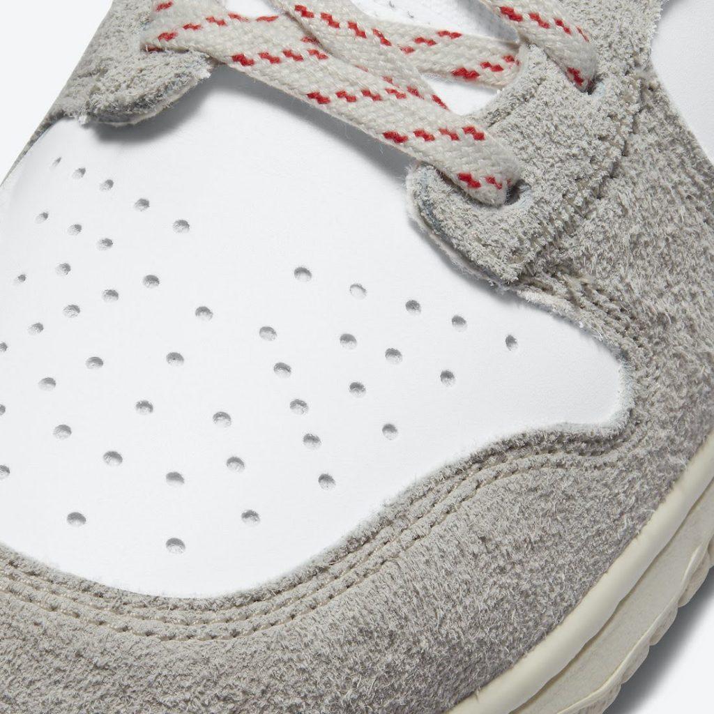 """ノートル × ナイキ ダンク ハイ """"ライト オアウッド ブラウン"""" Notre-Nike-Dunk-High-Light-Orewood-Brown-CW3092-100-toe-closeup"""