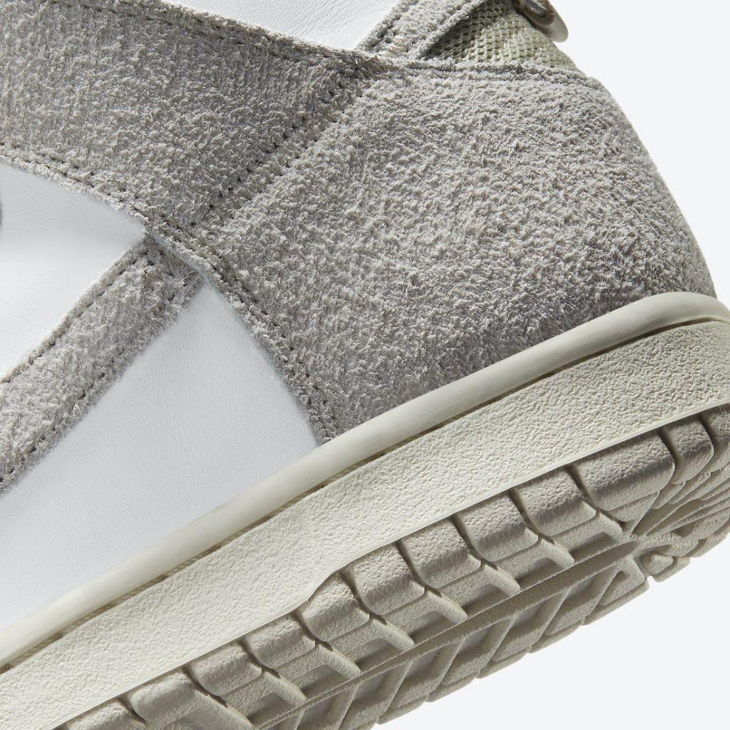 """ノートル × ナイキ ダンク ハイ """"ライト オアウッド ブラウン"""" Notre-Nike-Dunk-High-Light-Orewood-Brown-CW3092-100-side-heel-closeup"""