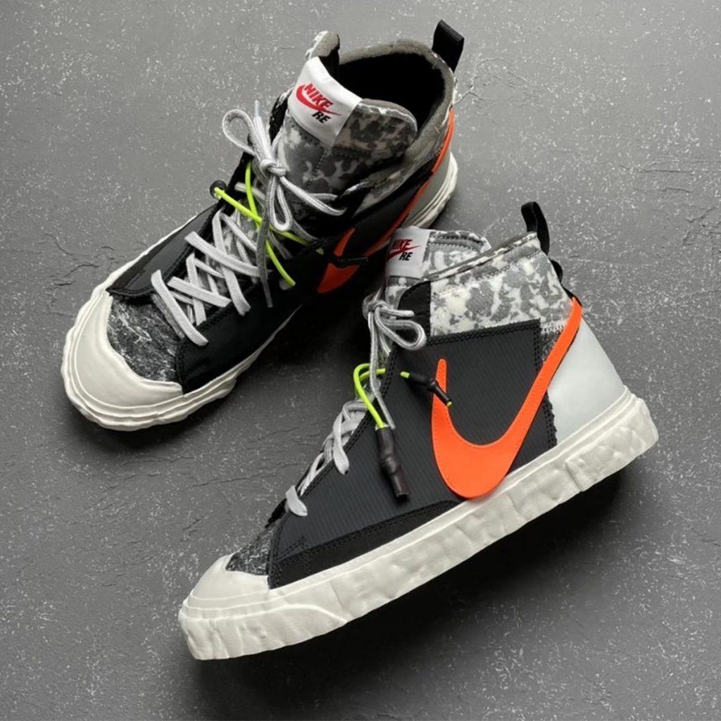レディメイド × ナイキ ブレーザー ミッド/ ブラック READYMADE-Nike-Blazer-Mid-Black-CZ3589-001-detail