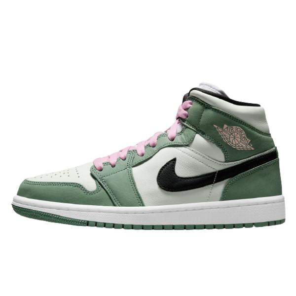 """ナイキ エア ジョーダン 1 ミッド SE """"ダッチグリーン"""" Nike-Air-Jordan-1-Mid-CZ0774-300-Dutch-Green-eyecatch"""
