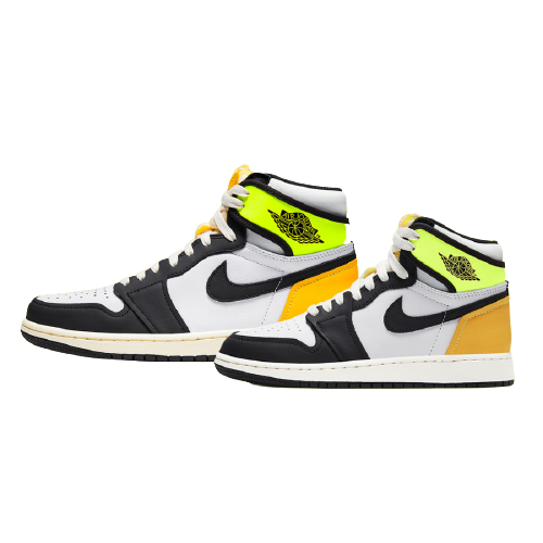 "Nike Air Jordan 1 Retro High OG ""Volt Gold"" ナイキ エア ジョーダン 1 レトロ ハイ OG ""ボルト ゴールド"" White/ Volt-University Gold-Black"