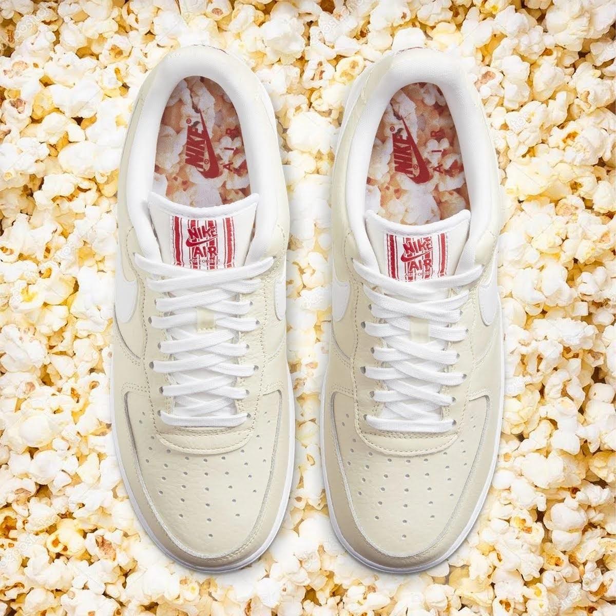 """ナイキ エア フォース 1 ロー プレミアム """"ポップコーン"""" nike-air-force-1-low-popcorn-cw2919-100-main"""