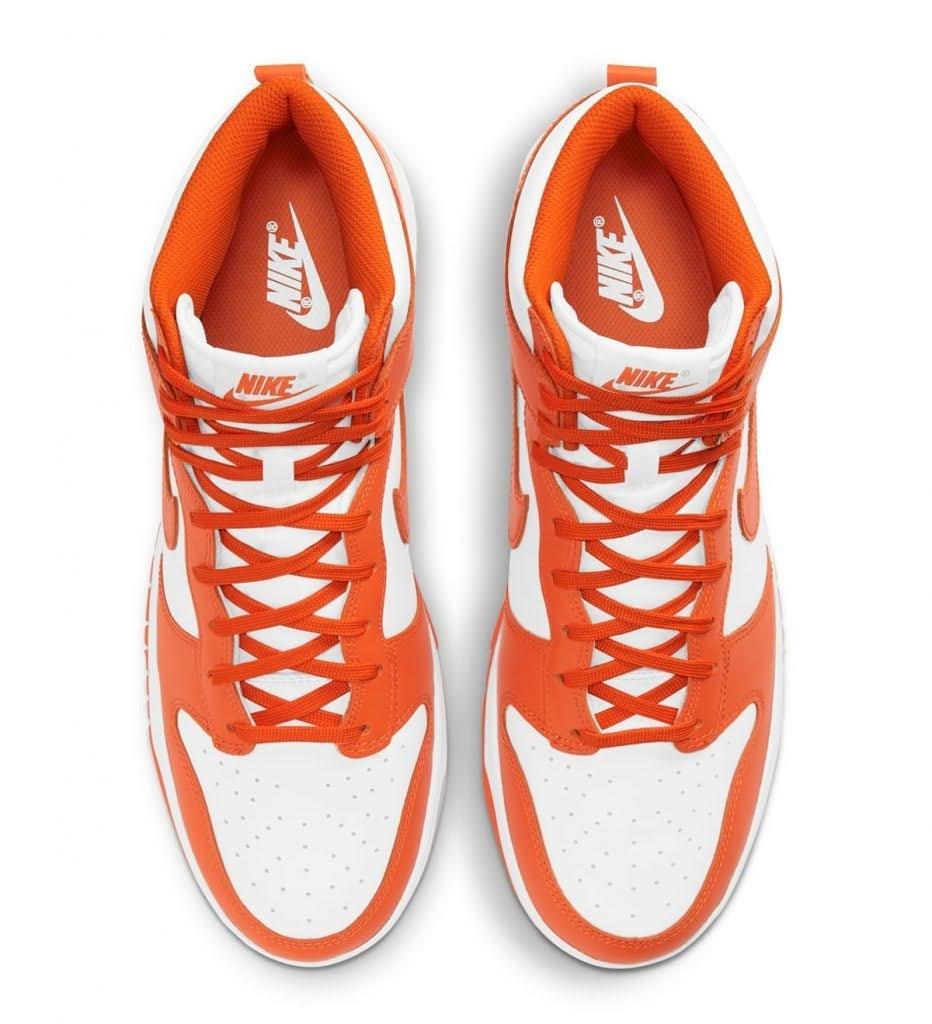 "Nike Dunk High ""Syracuse"" / ナイキ ダンク ハイ ""シラキュース"" DD1399-101 top"