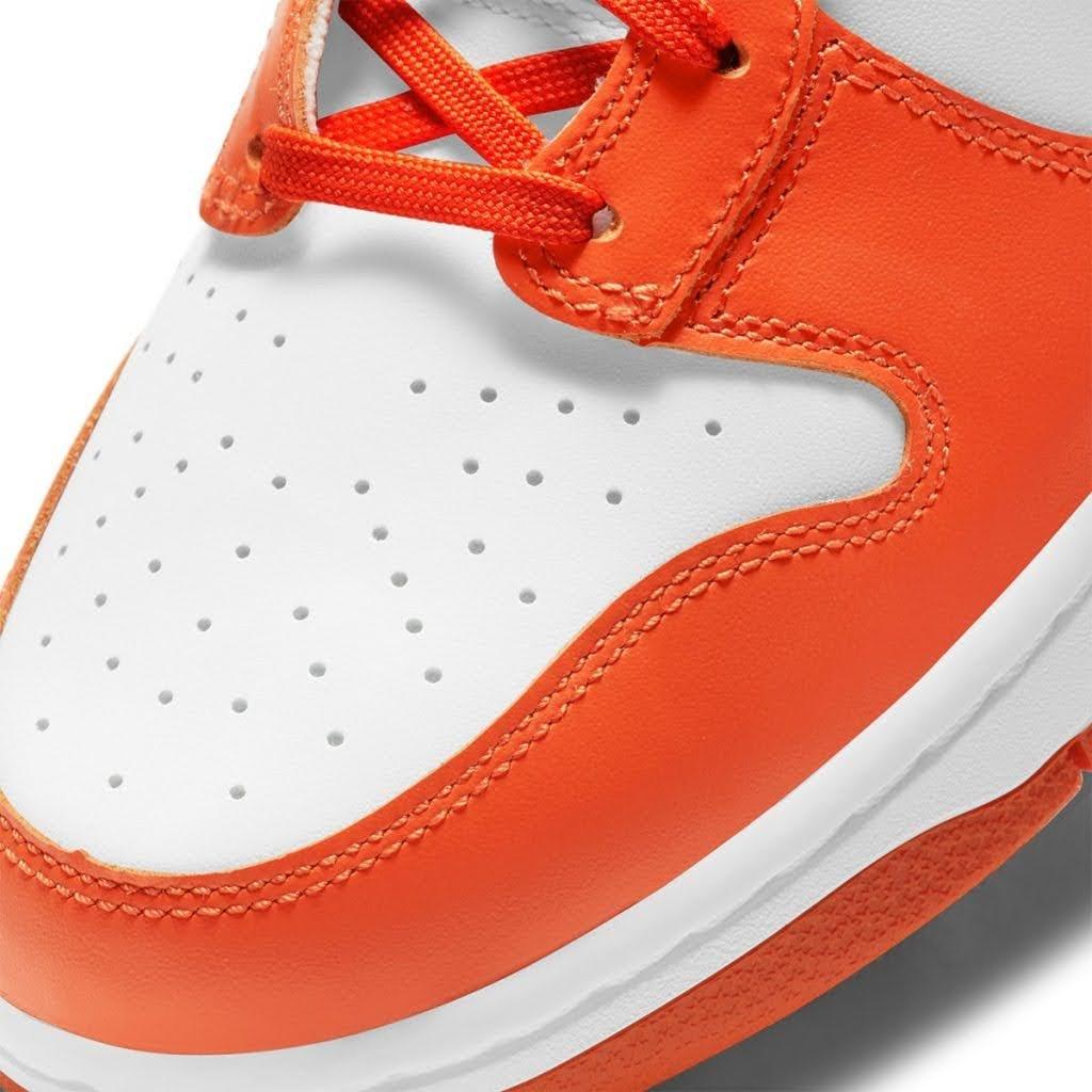 "Nike Dunk High ""Syracuse"" / ナイキ ダンク ハイ ""シラキュース"" DD1399-101 toe"