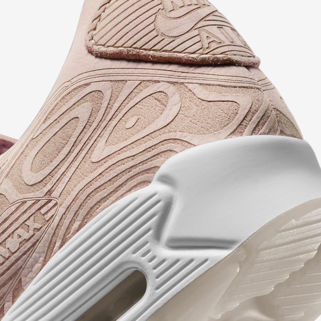 """ナイキ エア マックス 90 QS """"レーサー"""" Nike-Air-Max-90-Laser-DC7948-100-side-heel-closeup"""