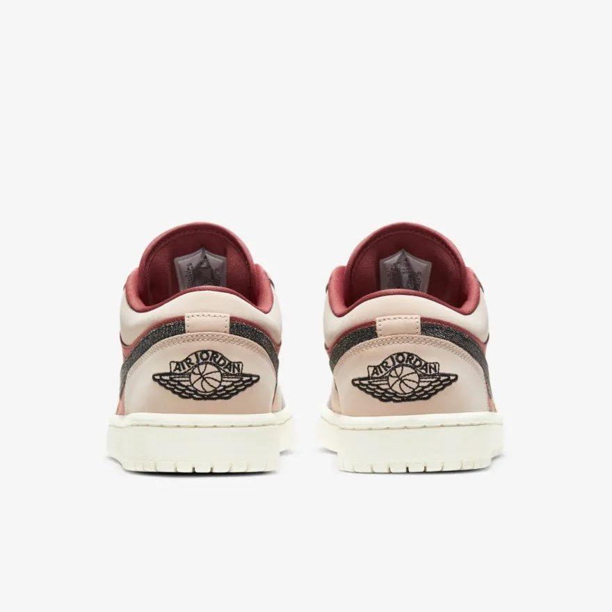 """ナイキ ウィメンズ エア ジョーダン 1 ロー """"キャニオン ラスト"""" Nike-WMNS-Air-Jordan-1-Low-Canyon-Rust-DC0774-602-heel"""