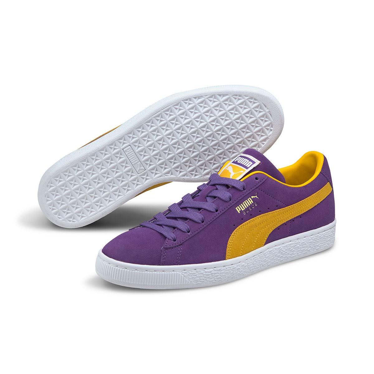"""プーマ スウェード チームス """"ロサンゼルス レイカーズ"""" Puma-Suede-Teams-Los-Angels-Lakers-380168-03-pair"""