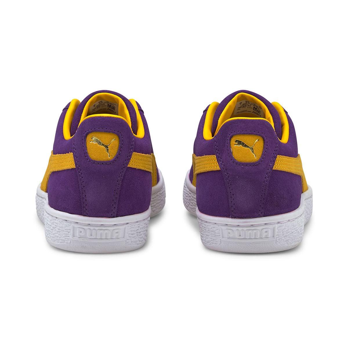 """プーマ スウェード チームス """"ロサンゼルス レイカーズ"""" Puma-Suede-Teams-Los-Angels-Lakers-380168-03-heel"""