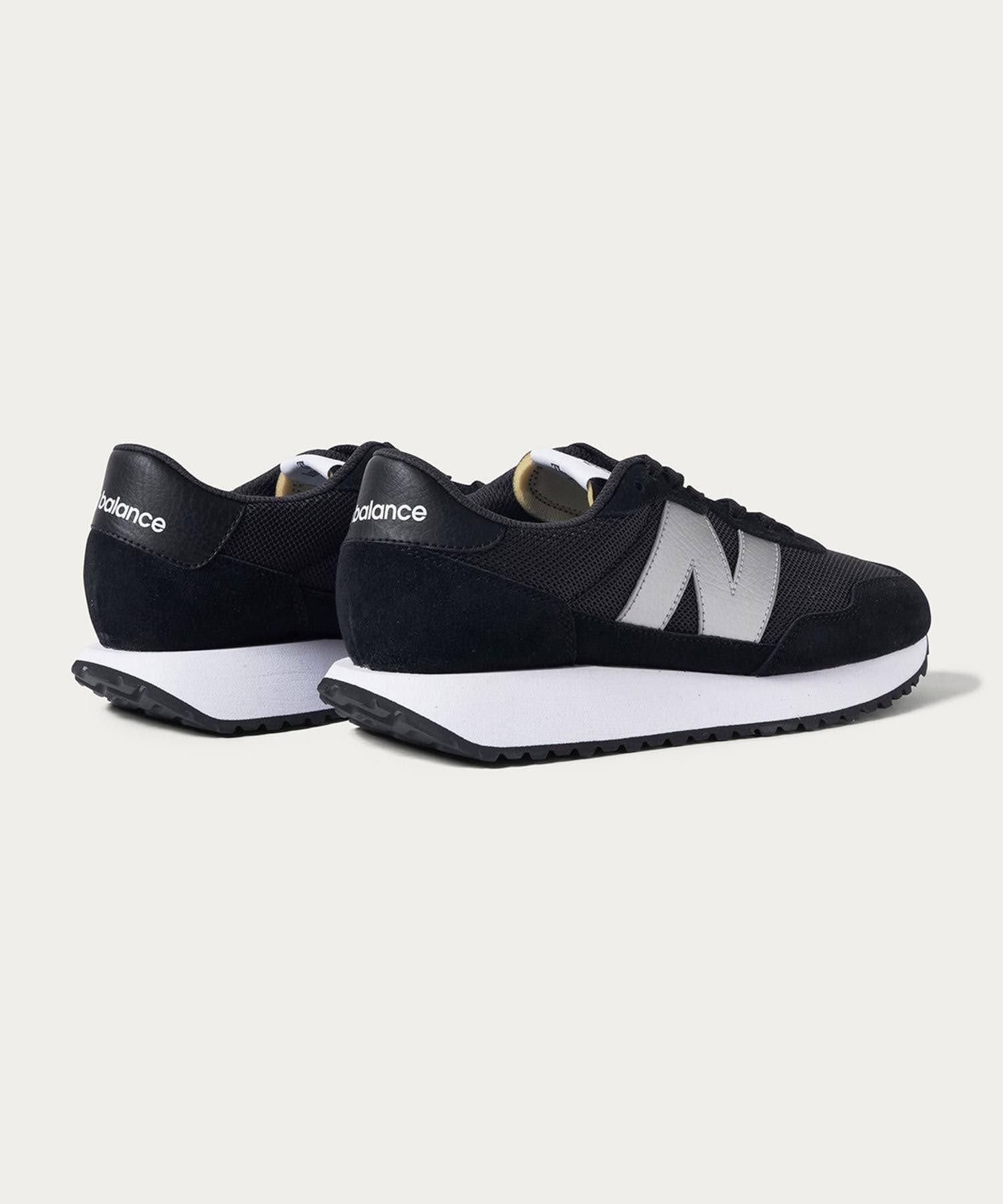 ニューバランス WS237/ ブラック New-Balance-WS237-Black-pair-back