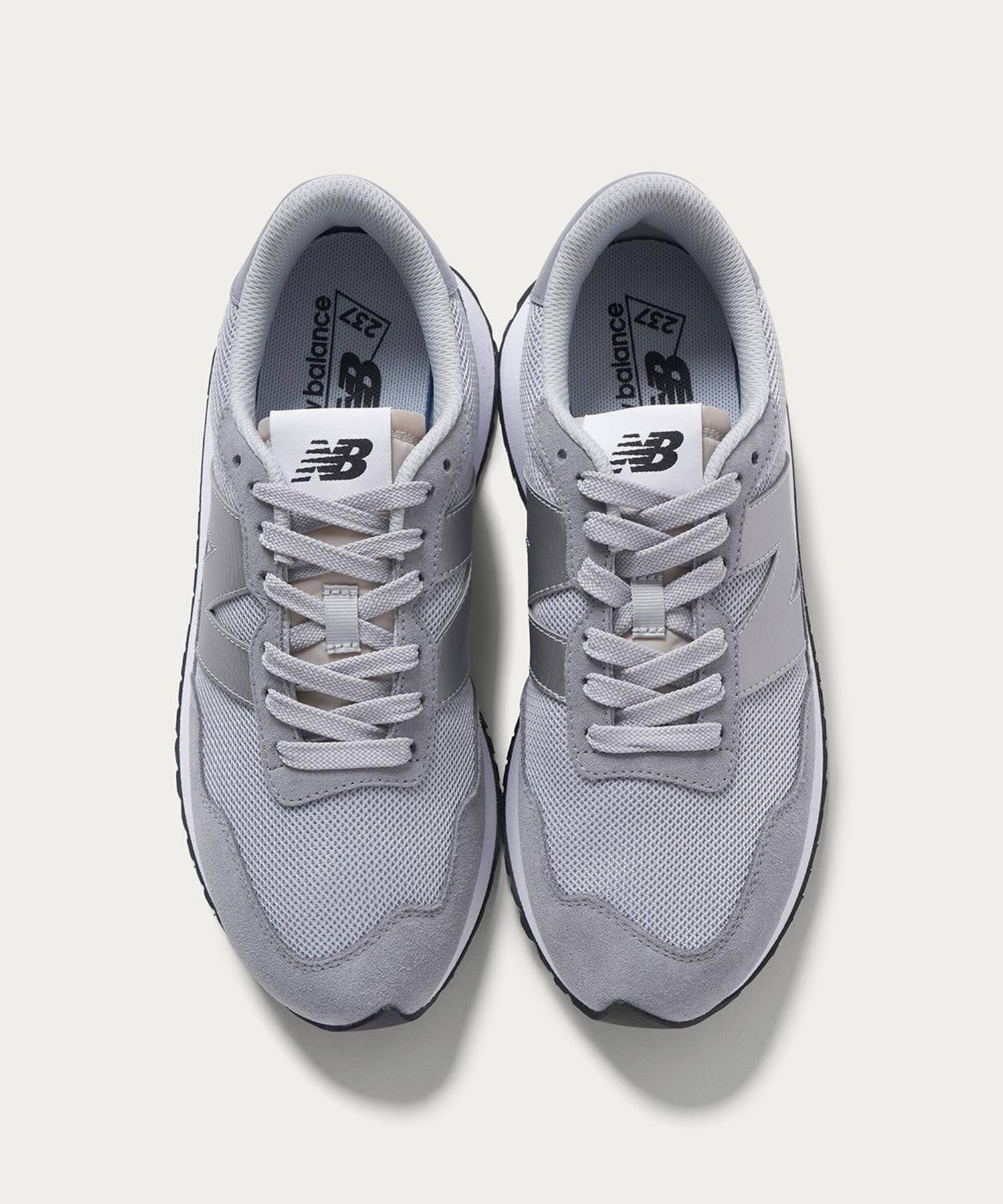ニューバランス WS237/ グレー New-Balance-WS237-Grey-top