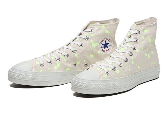 """ビリーズ × コンバース オールスター J ハイ """"スパーク"""" BILLY'S-Convers-All-Star-J-Hi-Spark-6095870001012-pair"""
