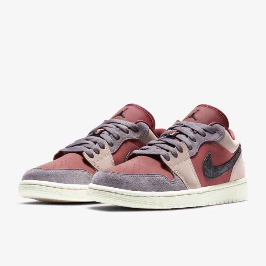 """ナイキ ウィメンズ エア ジョーダン 1 ロー """"キャニオン ラスト"""" Nike-WMNS-Air-Jordan-1-Low-Canyon-Rust-DC0774-602-pair"""