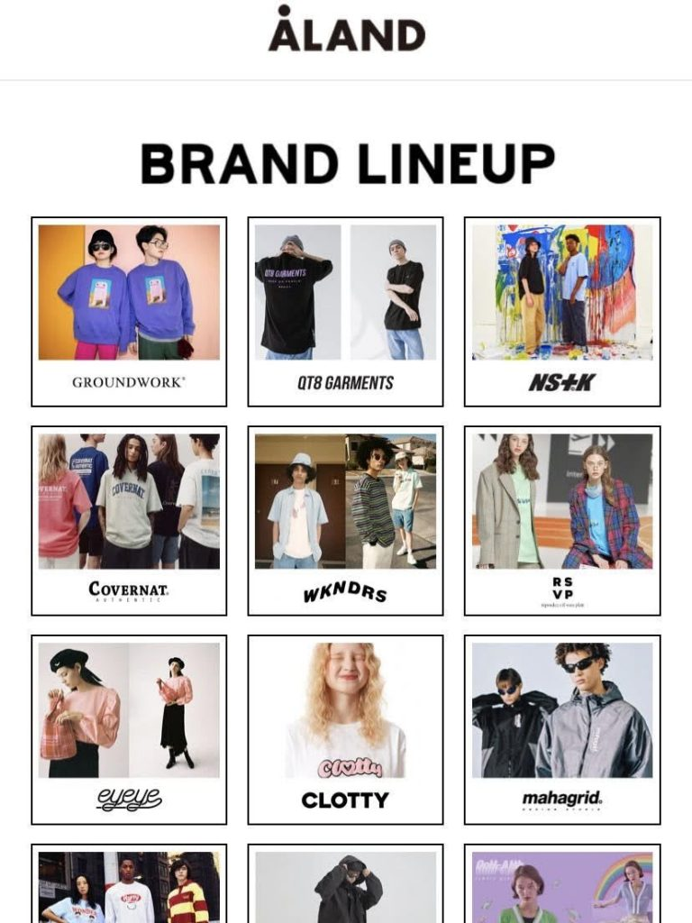 エーランド 韓国 ファッション ブランド 人気 おすすめ ALAND-Korean-Fashion-Brand-Online-Shop