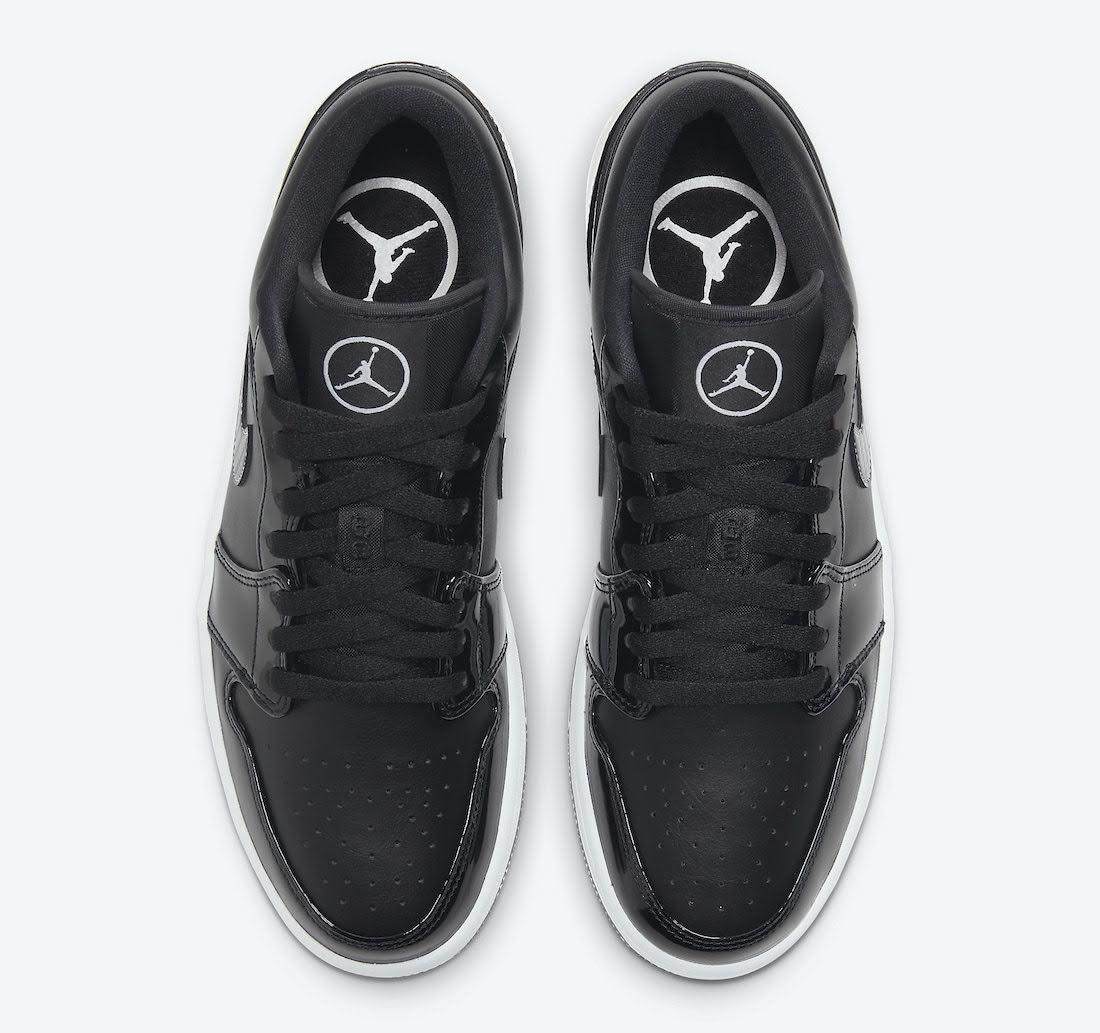 """ナイキ エア ジョーダン 1 ロー """"オールスター"""" Nike-Air-Jordan-1-Low-All-Star-DD1650-001-top"""