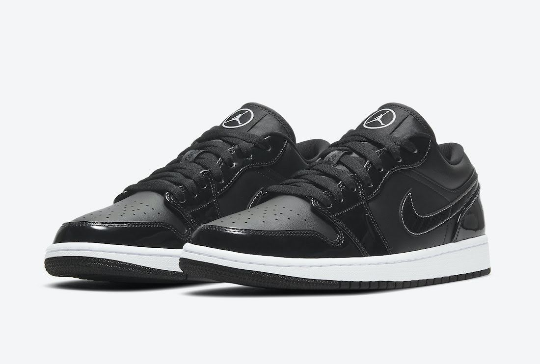 """ナイキ エア ジョーダン 1 ロー """"オールスター"""" Nike-Air-Jordan-1-Low-All-Star-DD1650-001-pair"""