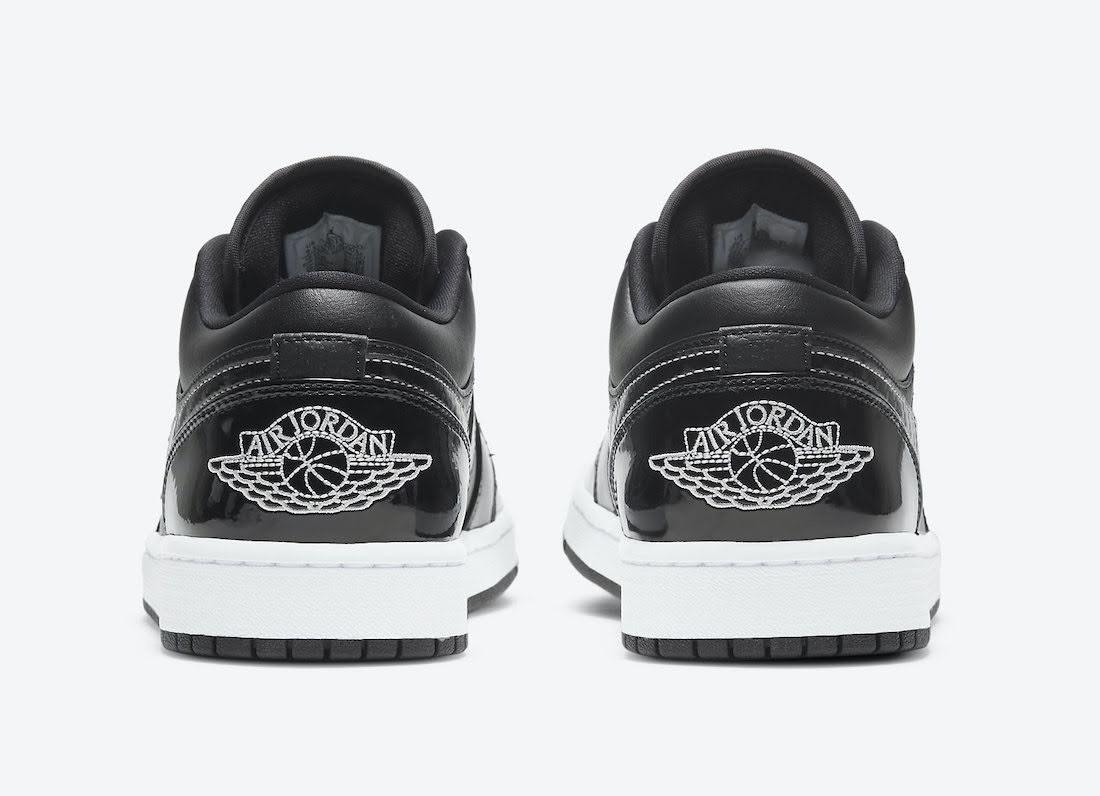 """ナイキ エア ジョーダン 1 ロー """"オールスター"""" Nike-Air-Jordan-1-Low-All-Star-DD1650-001-heel"""