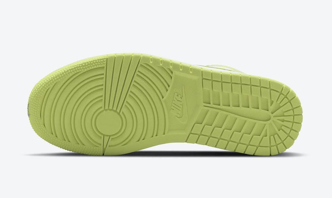 """ナイキ エア ジョーダン 1 ロー """"ライムライト"""" Nike-Air-Jordan-1-Low-Limelight-DH9619-103-sole"""