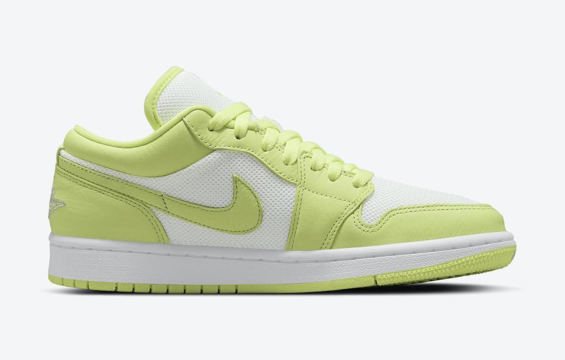 """ナイキ エア ジョーダン 1 ロー """"ライムライト"""" Nike-Air-Jordan-1-Low-Limelight-DH9619-103-side-2"""
