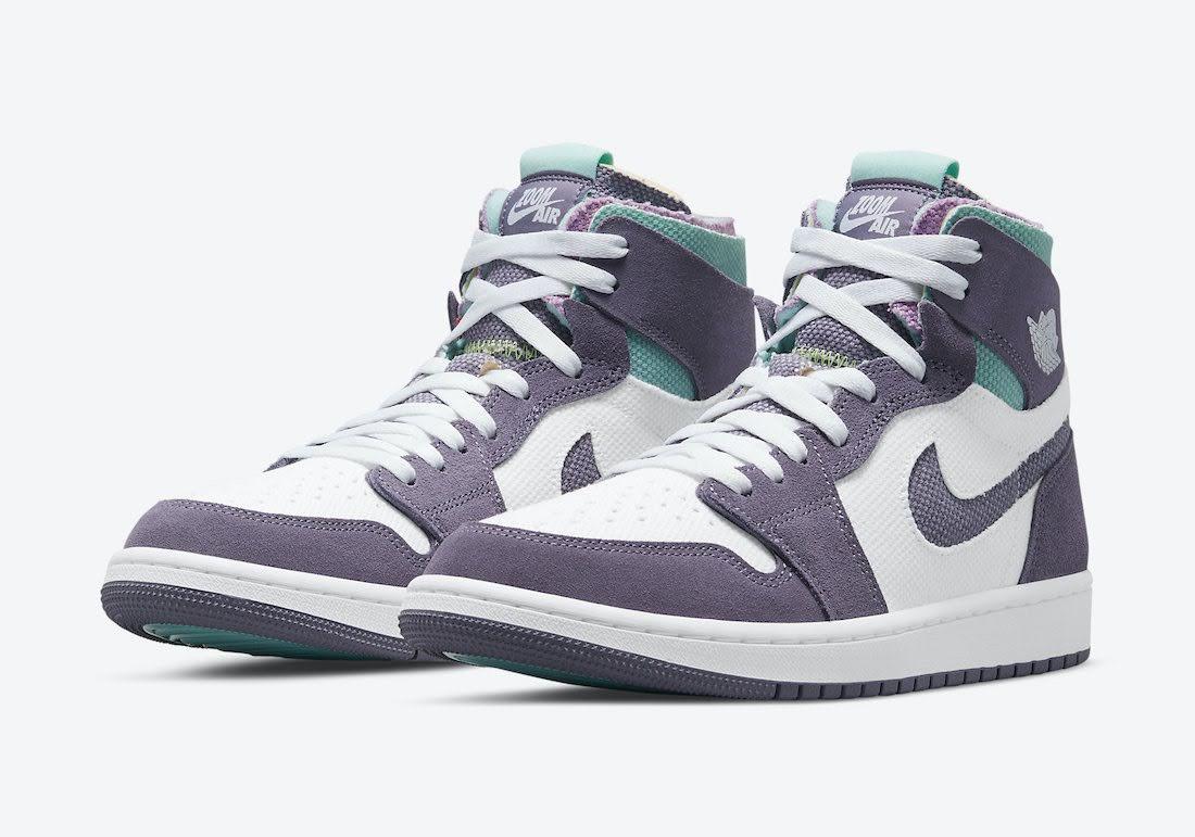 """ナイキ エア ジョーダン 1 ズーム コンフォート """"トロピカル ツイスト"""" Nike-Air-Jordan-1-Zoom-Comfort-Tropical-Twist-CT0978-150-pair"""