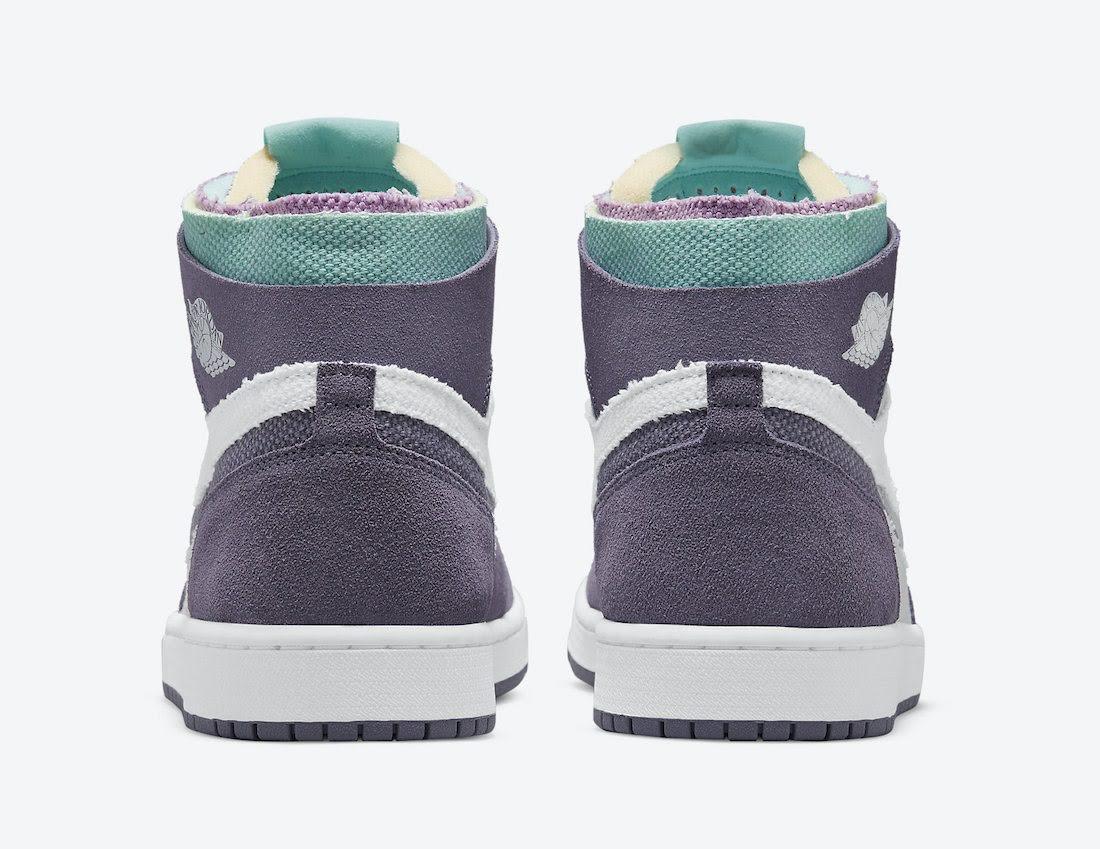 """ナイキ エア ジョーダン 1 ズーム コンフォート """"トロピカル ツイスト"""" Nike-Air-Jordan-1-Zoom-Comfort-Tropical-Twist-CT0978-150-heel"""