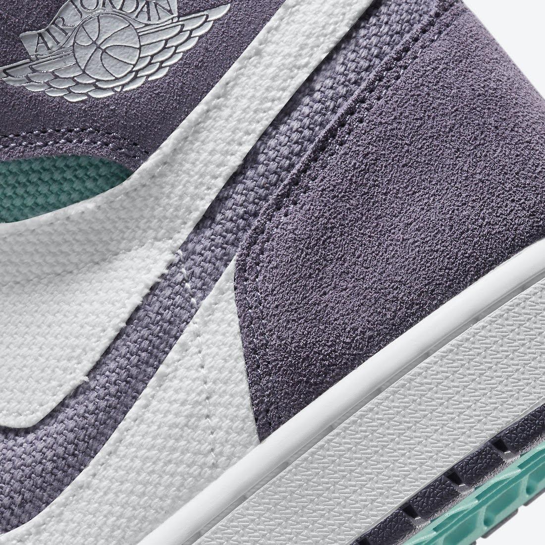 """ナイキ エア ジョーダン 1 ズーム コンフォート """"トロピカル ツイスト"""" Nike-Air-Jordan-1-Zoom-Comfort-Tropical-Twist-CT0978-150-side-heel-closeup"""
